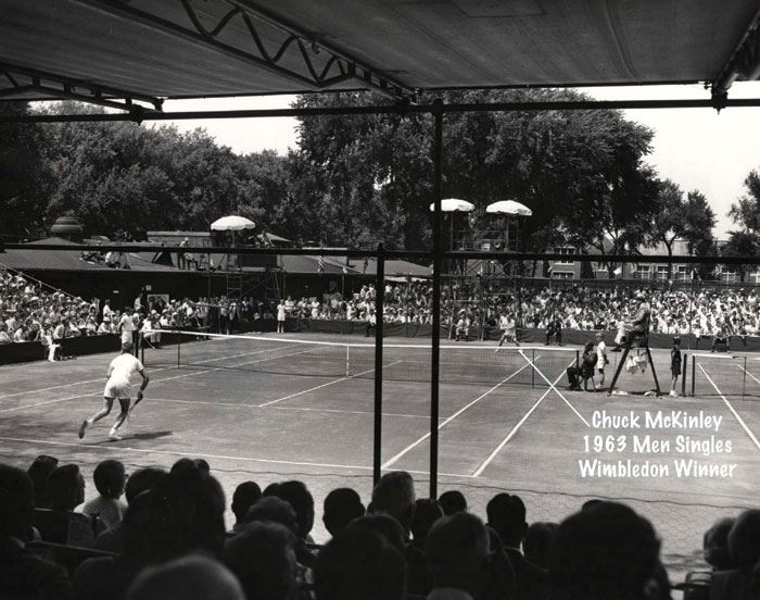 1963 clay court tennis tournament